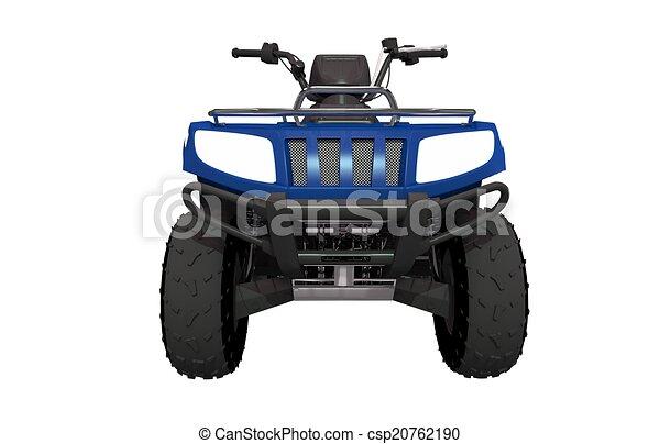 Front View ATV Quad Bike - csp20762190