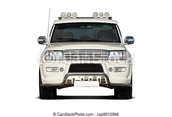 Front view of SUV - csp9010566