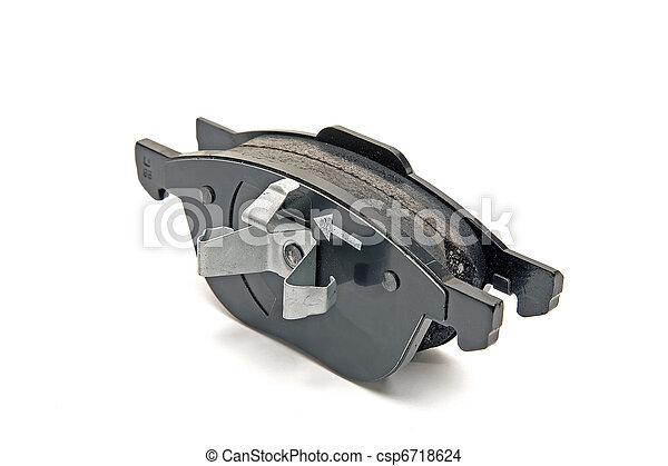front wheel brake pads - csp6718624