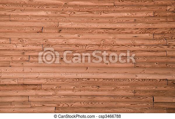 frontally., parede, forro, madeira pinho, board., closeup - csp3466788
