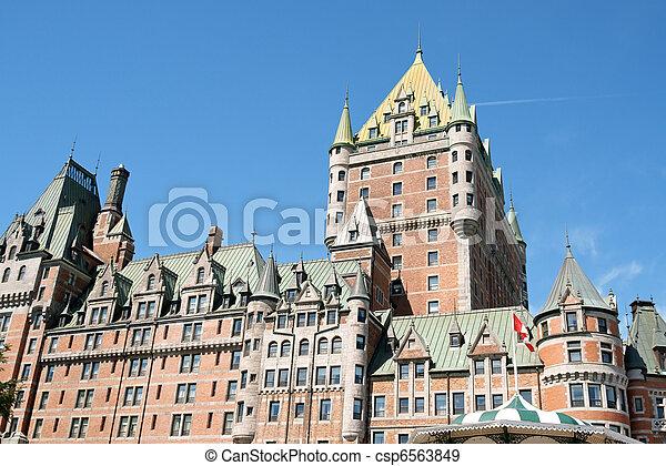 frontenac, 城, ケベック 都市 - csp6563849