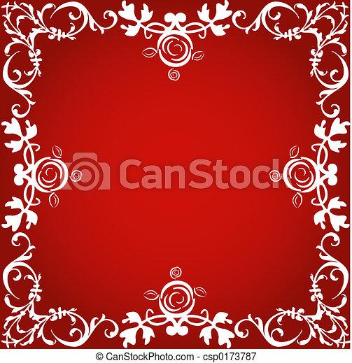 Frontera decorativa - csp0173787