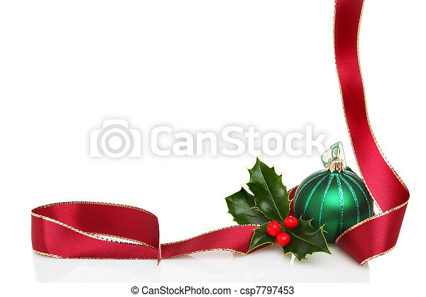La frontera de Navidad - csp7797453