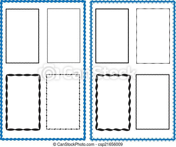 frontière, cadre, conception - csp21656009
