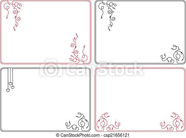 frontière, cadre, conception - csp21656121
