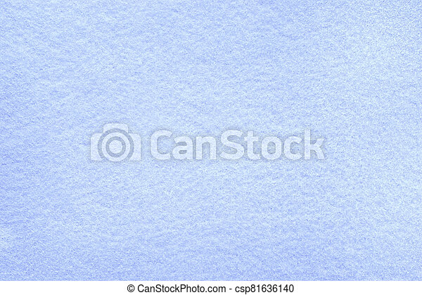 Frosted blue felt background - csp81636140