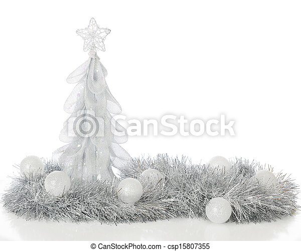Frosty Christmas Still Life - csp15807355