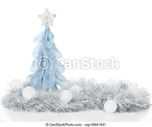 Frosty Christmas Still Life - csp16941541