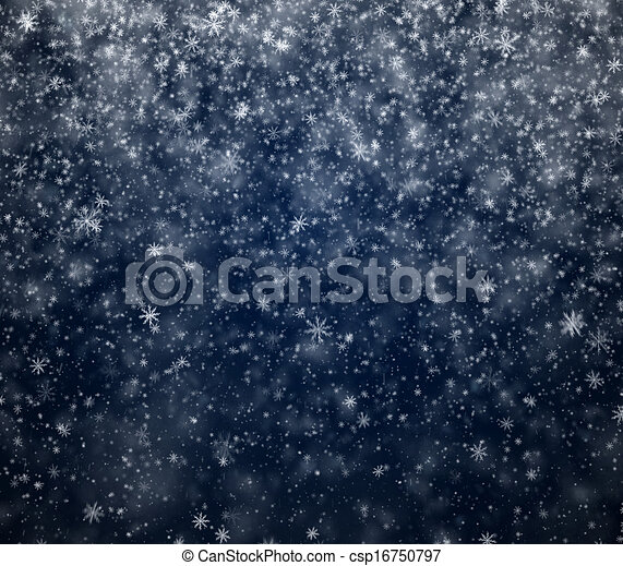Frosty winter New Year's background - csp16750797