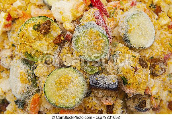 Frozen food - csp79231652