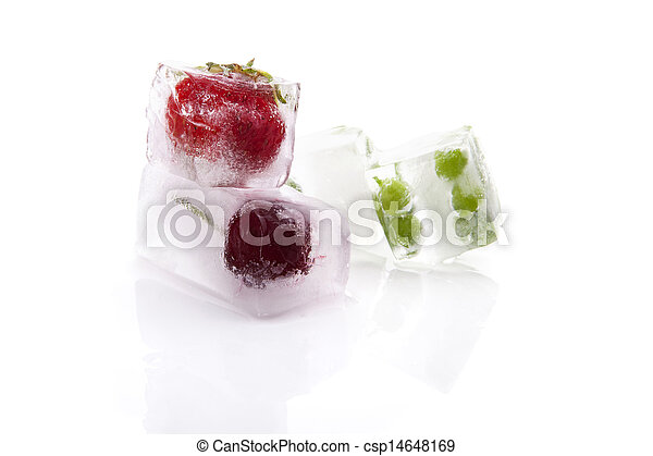 Frozen fruits and vegetables. - csp14648169