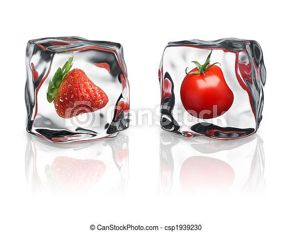 frozen fruits - csp1939230
