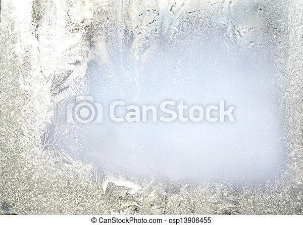 frozen glass - csp13906455