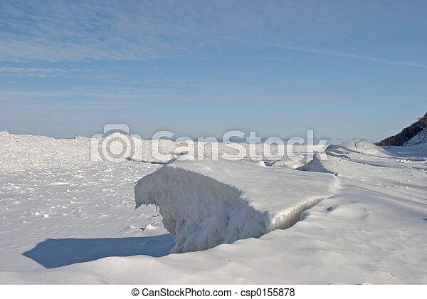 Frozen Lake - csp0155878