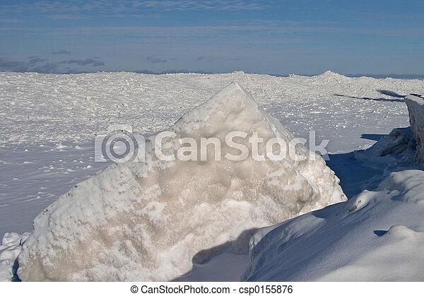 Frozen Lake - csp0155876