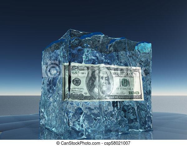 Frozen Money - csp58021007