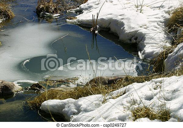 Frozen Stream - csp0249727