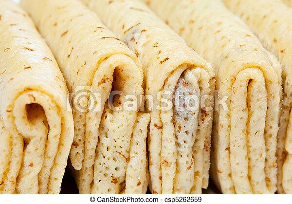 frozen stuffed pancake - csp5262659