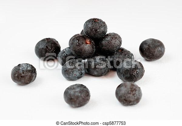 fruit, acai, baies - csp5877753
