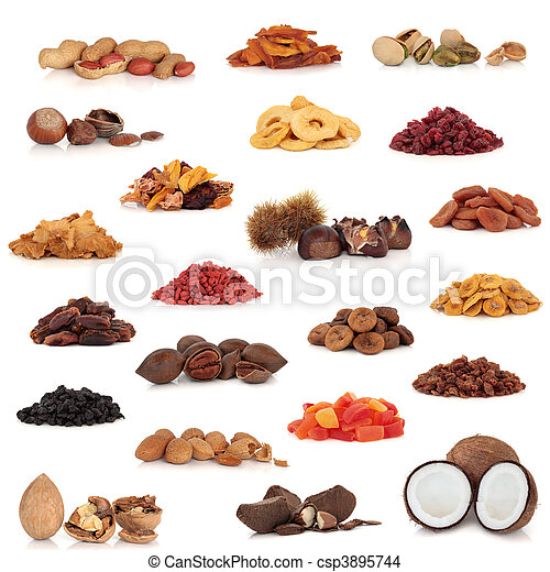Fruit and Nut Collection - csp3895744
