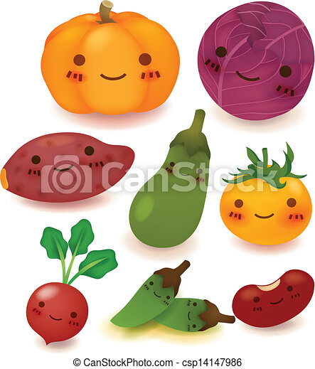 Fruit and vegetable Collection - csp14147986