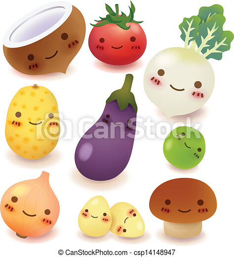 Fruit and vegetable Collection - csp14148947