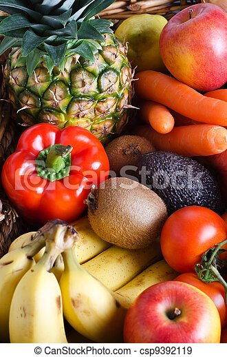 Fruit and Vegetable Selection - csp9392119