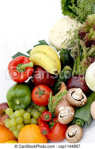 Fruit and vegetables - csp1144867