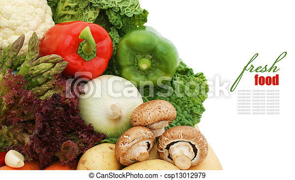 Fruit and vegetables - csp13012979