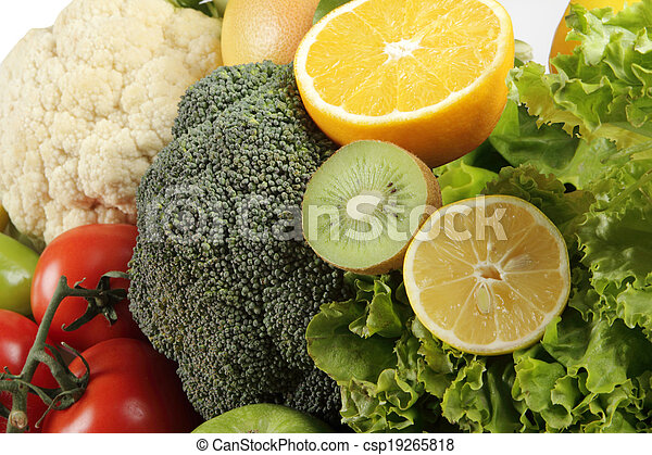 Fruit and Vegetables - csp19265818