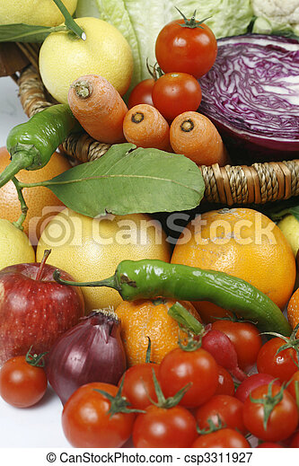 fruit and vegetables - csp3311927