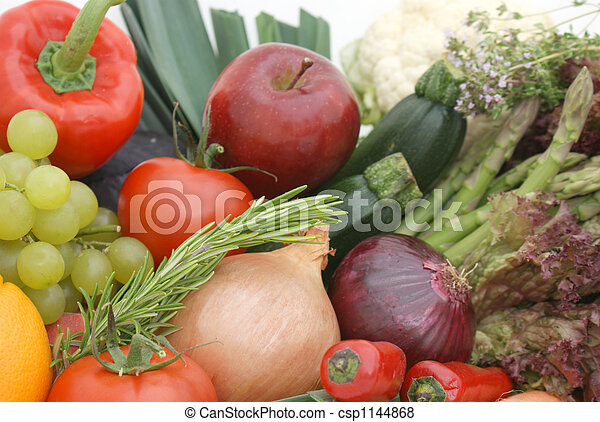 Fruit and vegetables - csp1144868
