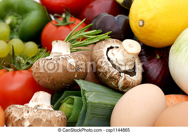 Fruit and vegetables - csp1144865