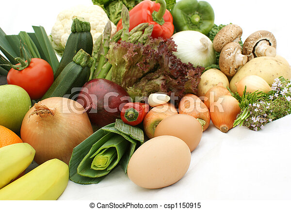 Fruit and vegetables - csp1150915