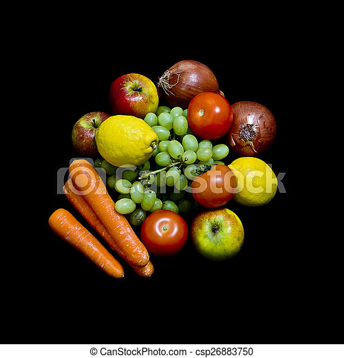 fruit and vegetables - csp26883750