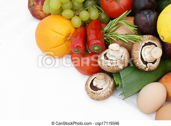 Fruit and vegetables - csp17119346