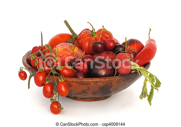 fruit and vegetables - csp4009144