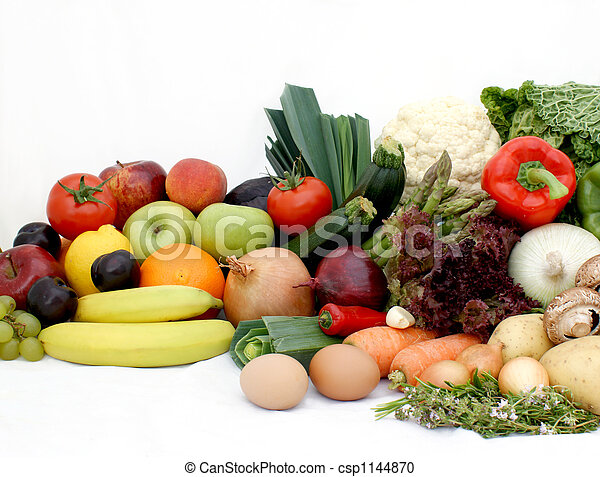 Fruit and vegetables - csp1144870