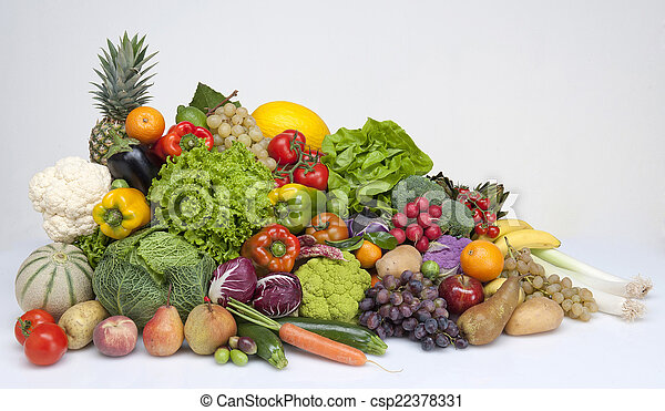 Fruit and vegetables - csp22378331