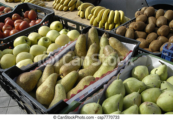 fruit and vegetables - csp7770733