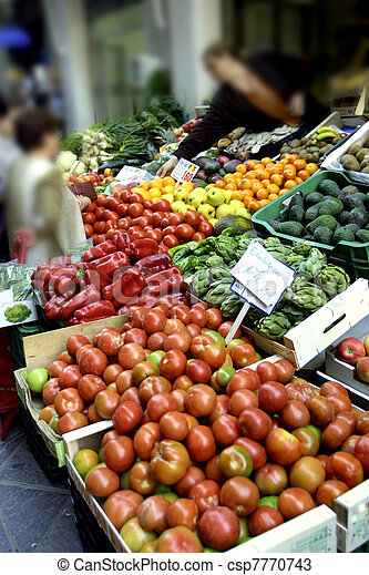 fruit and vegetables - csp7770743