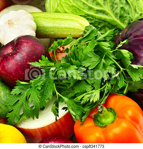 fruit and vegetables - csp8341773