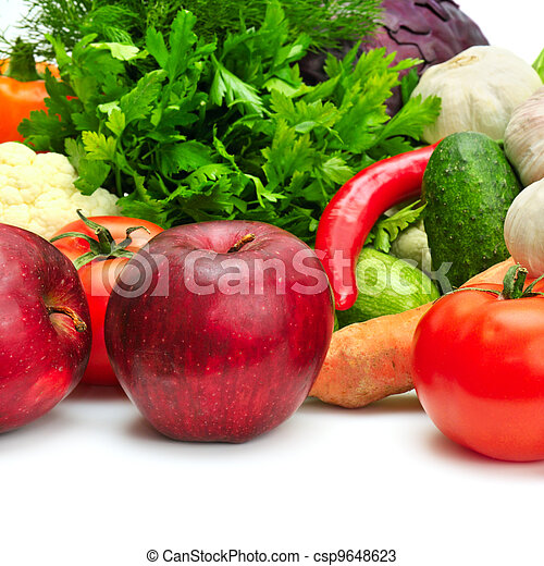 fruit and vegetables - csp9648623