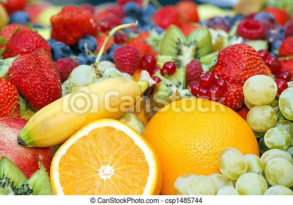fruit assortment - csp1485744