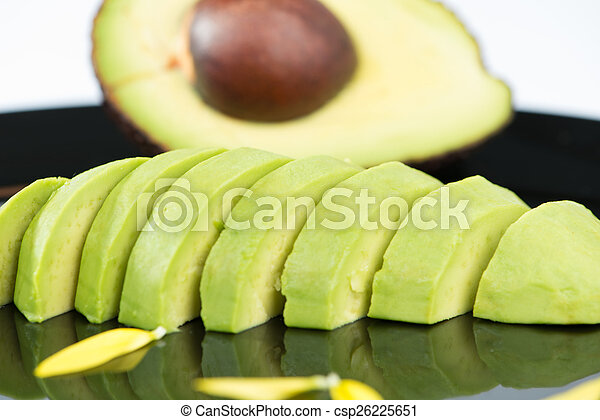 fruit, avocado - csp26225651