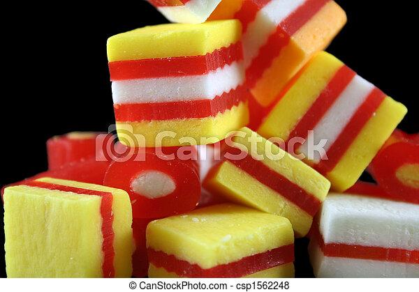 Fruit Candies 6 - csp1562248