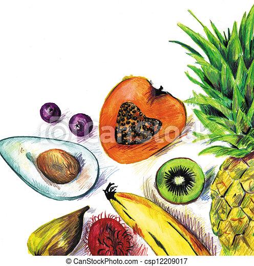 Fruit - csp12209017