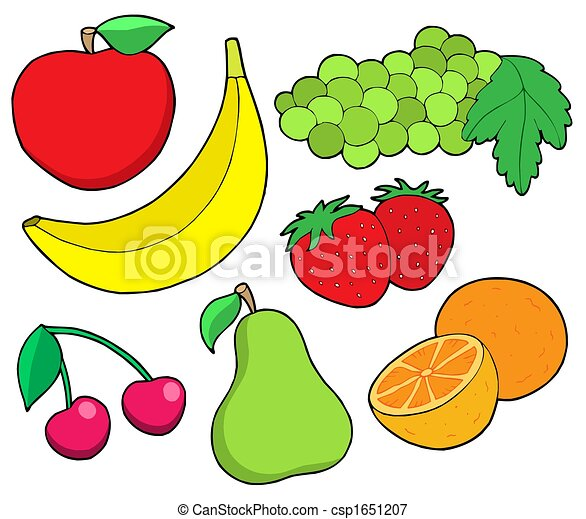 Fruit collection 1 - csp1651207