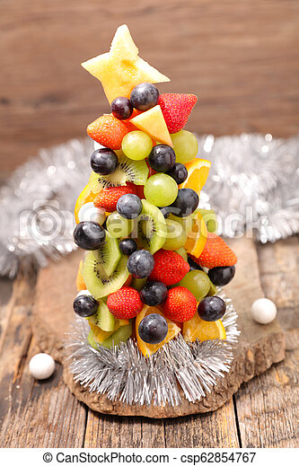 fruit decoration for christmas - csp62854767