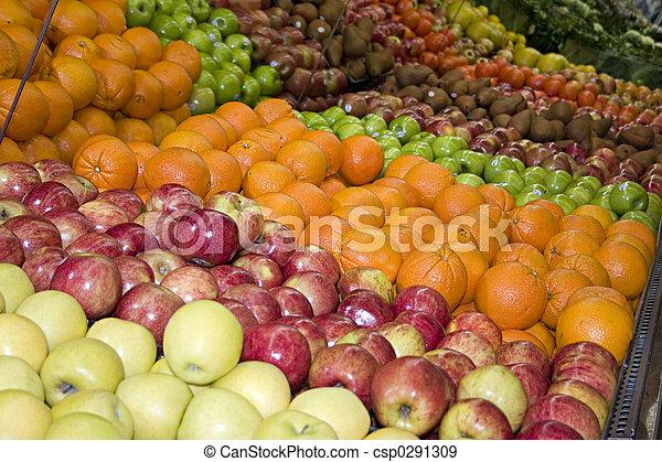 fruit department - csp0291309